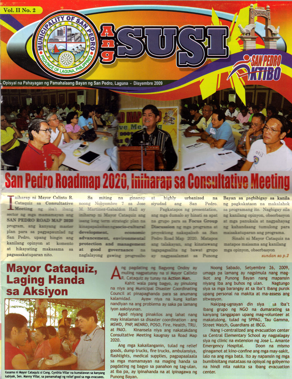 Primary image for Newsletter - ANG SUSI Municipality of SAN PEDRO, LAGUNA, PHILIPPINES