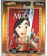 2020 Hot Wheels Walt Disney Classic-Mulan 4/5 DREAM VAN XGW Orange w/RR ... - $12.00