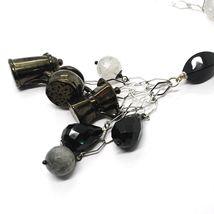Silver 925 Necklace, Onyx, Mocha, Coffee Pot, Teapot, Pendants, Quartz Rutilated image 4