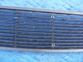 1971 MARK  III  TRUNK GRILL REAR DECK USED ORIG LINCOLN FORD PART # C8LB-65403C1 image 3