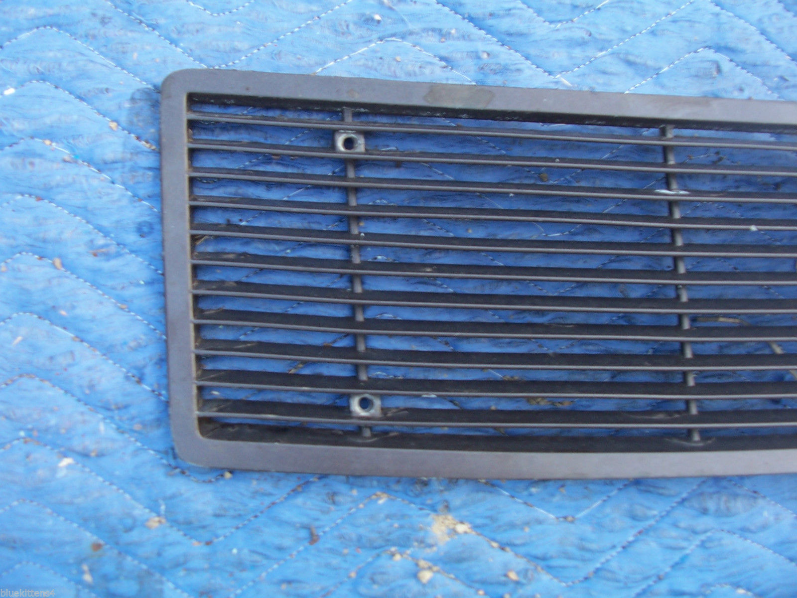 1971 MARK  III  TRUNK GRILL REAR DECK USED ORIG LINCOLN FORD PART # C8LB-65403C1 image 2