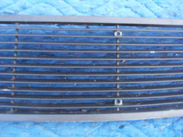 1971 MARK  III  TRUNK GRILL REAR DECK USED ORIG LINCOLN FORD PART # C8LB-65403C1 image 4