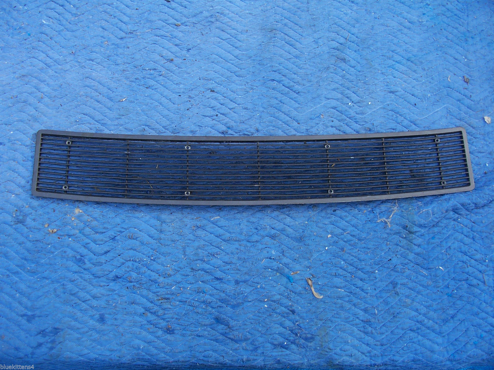 1971 MARK  III  TRUNK GRILL REAR DECK USED ORIG LINCOLN FORD PART # C8LB-65403C1