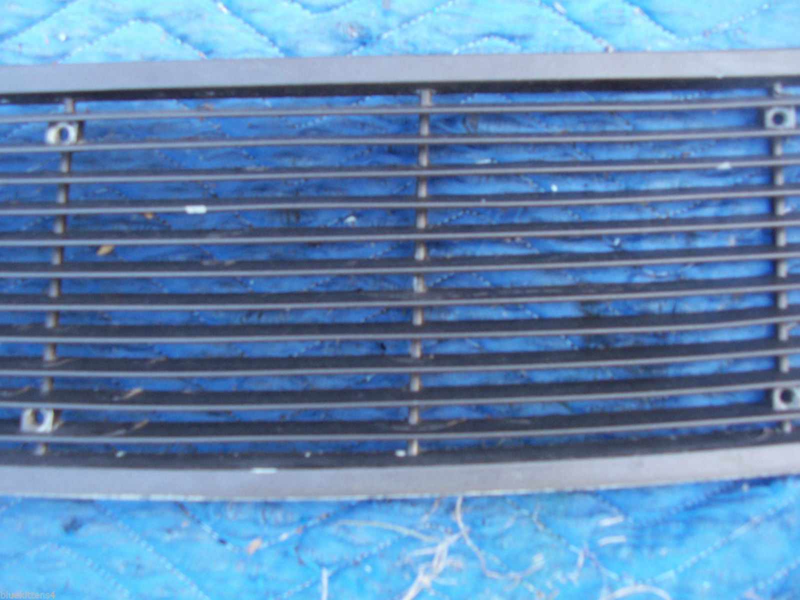 1971 MARK  III  TRUNK GRILL REAR DECK USED ORIG LINCOLN FORD PART # C8LB-65403C1 image 6