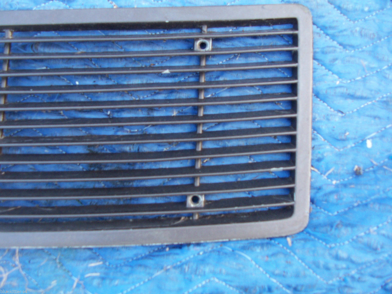 1971 MARK  III  TRUNK GRILL REAR DECK USED ORIG LINCOLN FORD PART # C8LB-65403C1 image 7