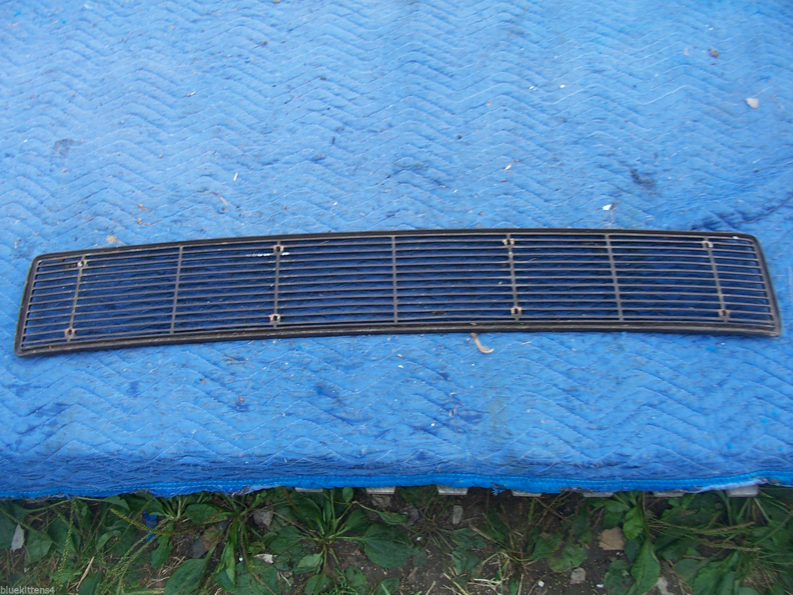 1971 MARK  III  TRUNK GRILL REAR DECK USED ORIG LINCOLN FORD PART # C8LB-65403C1 image 8