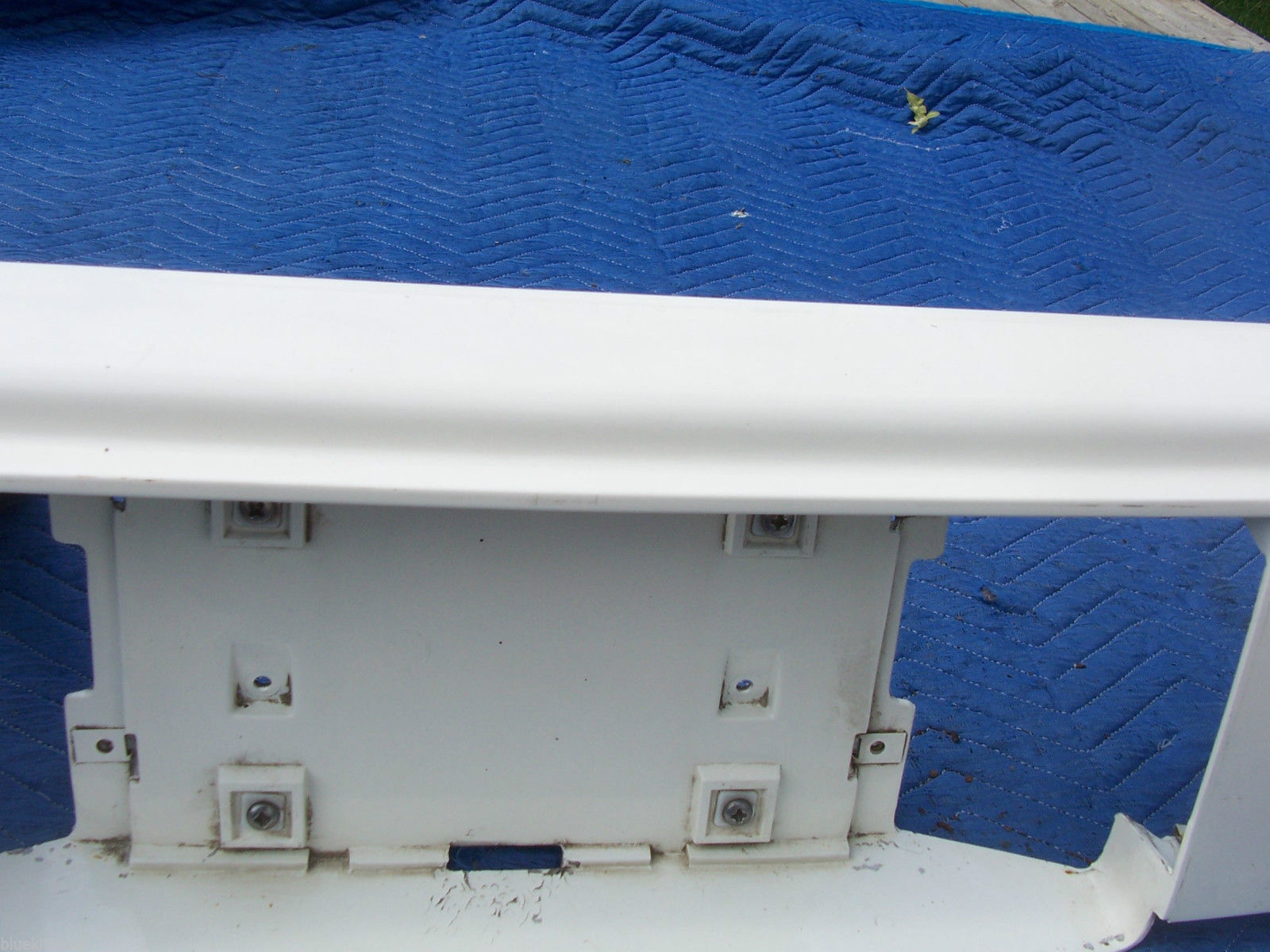 1985 FLEETWOOD FWD TRUNK TAIL FILLER VALANCE PANEL OEM USED ORIG CADILLAC GM #