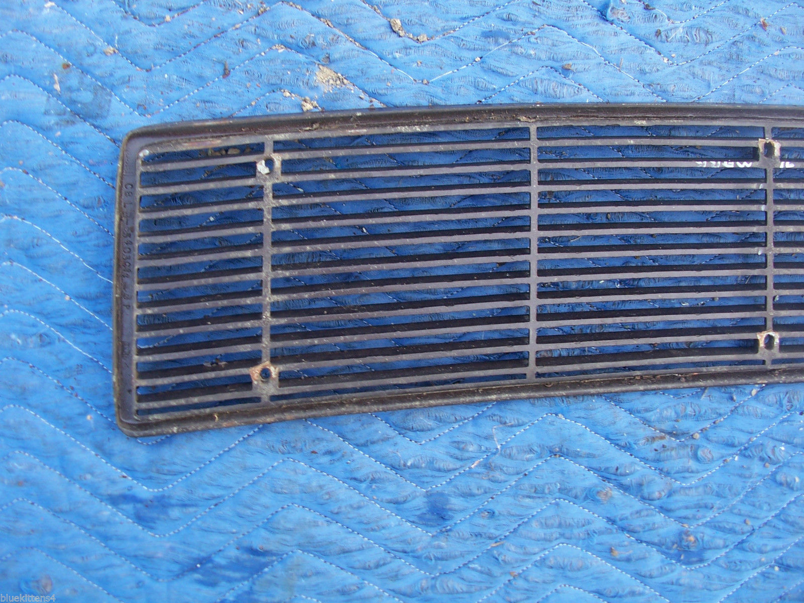 1971 MARK  III  TRUNK GRILL REAR DECK USED ORIG LINCOLN FORD PART # C8LB-65403C1 image 9
