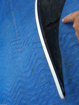 1977 COUPE DEVILLE LEFT FRONT FENDER WHEEL TRIM MOLDING OEM USED ORIG CADILLAC image 2