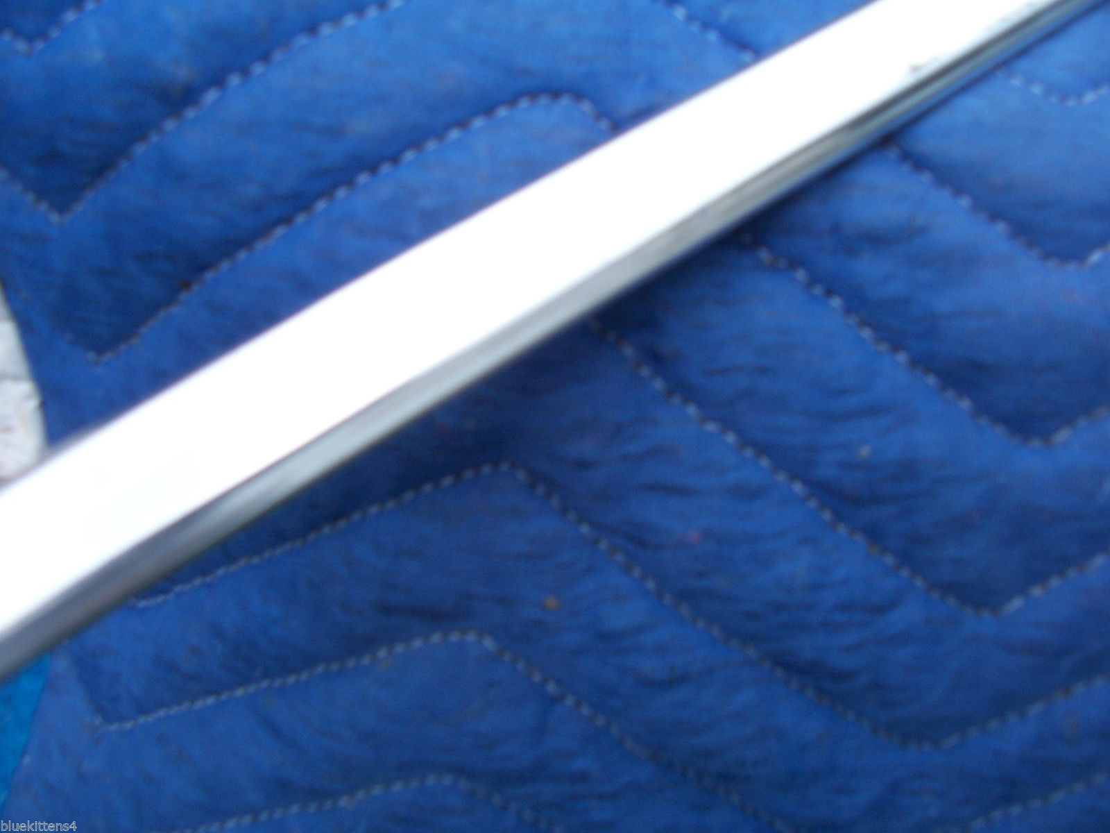 1978 1979  CONTINENTAL 2 DOOR COUPE RIGHT REAR FENDER TRIM MOLDING OEM LINCOLN image 6