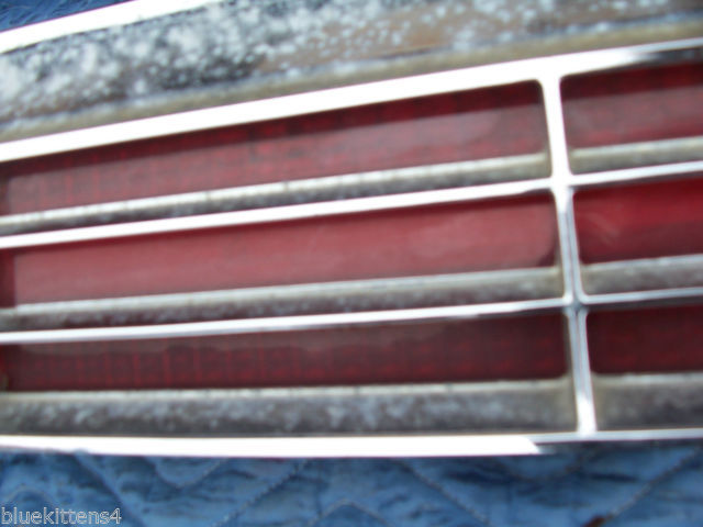 1974 BUICK RIVIERA LEFT TAILLIGHT W GRILL OEM USED ORIGINAL GM PART image 7