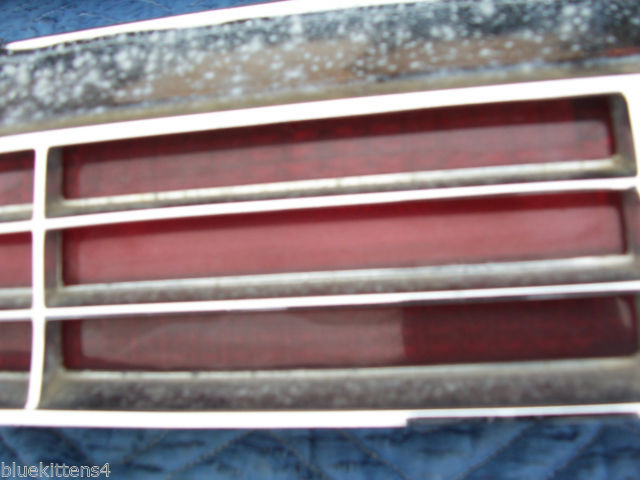 1974 BUICK RIVIERA LEFT TAILLIGHT W GRILL OEM USED ORIGINAL GM PART image 6