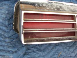 1974 BUICK RIVIERA LEFT TAILLIGHT W GRILL OEM USED ORIGINAL GM PART image 5