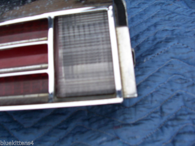 1974 BUICK RIVIERA LEFT TAILLIGHT W GRILL OEM USED ORIGINAL GM PART image 8