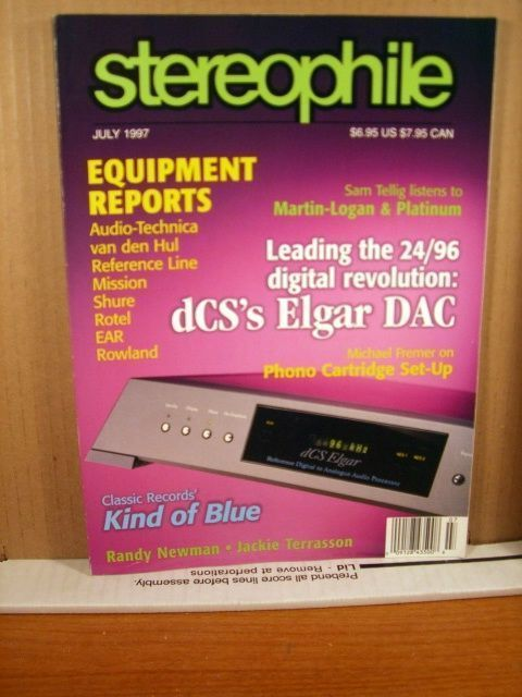 Primary image for Stereophile Magazine July 1997 Vol 20 No 7 dCS's Elgar DAC