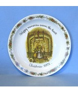 Holly Hobbie Happy Memories Christmas 1972 Collector's Plate American Gr... - $4.99