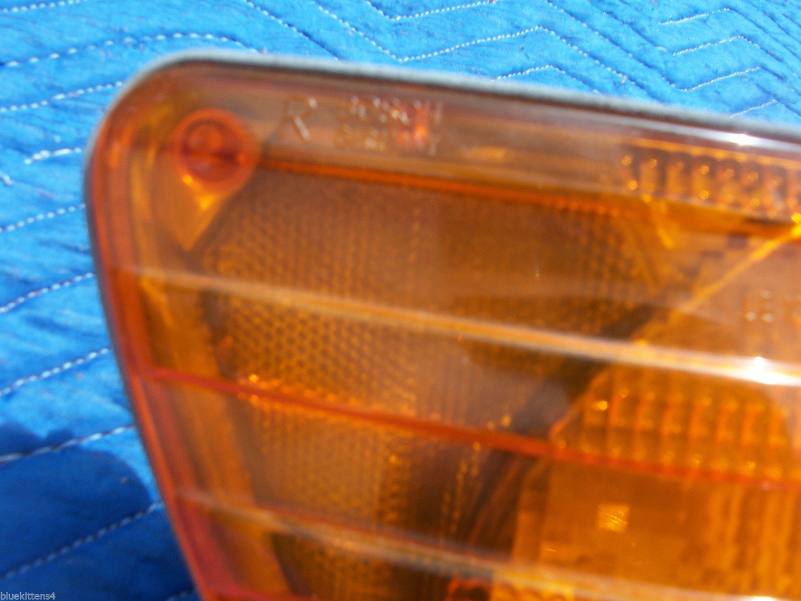 1976 MERCEDES 450 SE SEL RIGHT MARKER LIGHT CORNER TURN OEM USED ORIG 1305233006 image 2