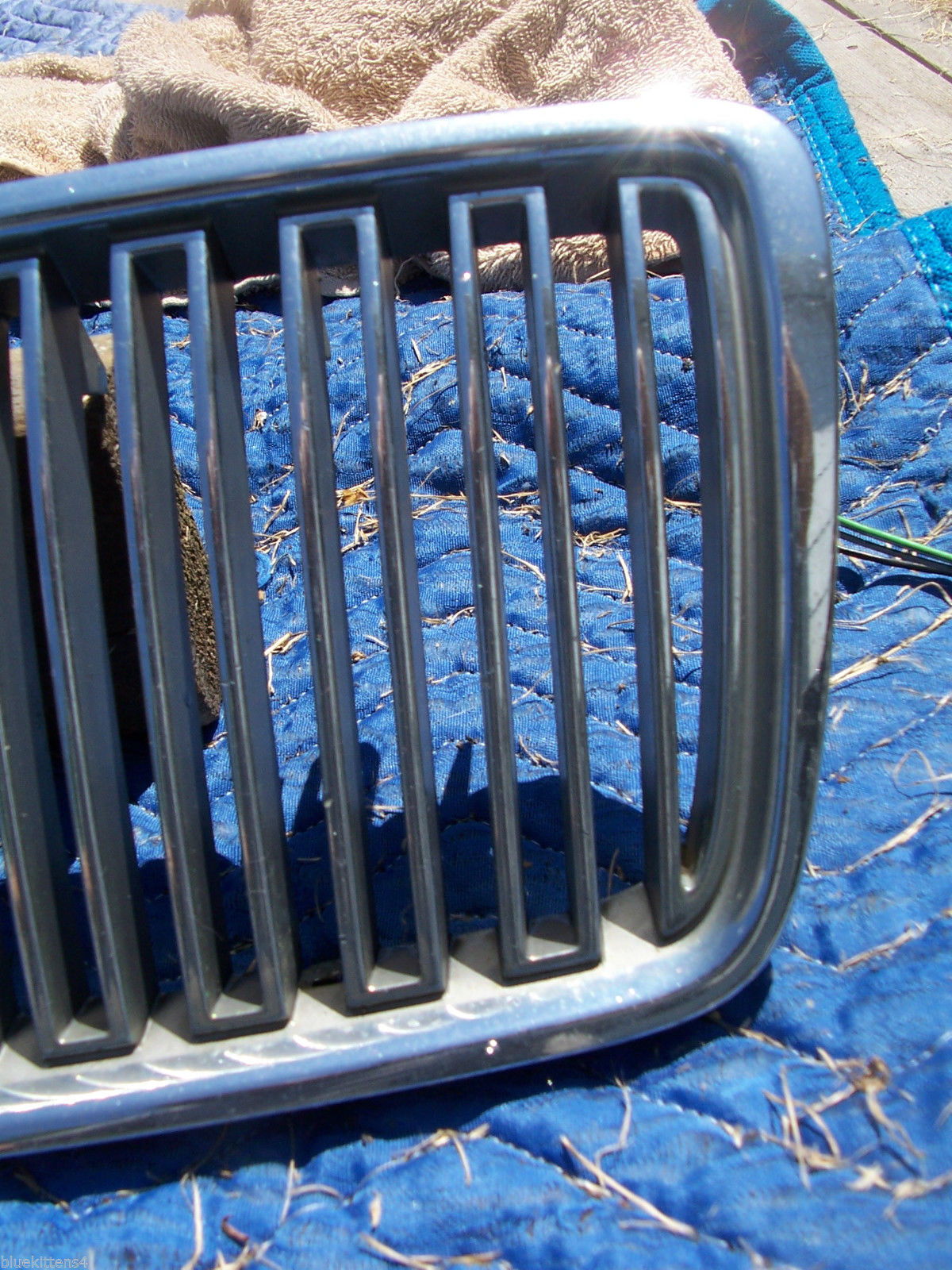 2000 S 80 GRILL ORIG VOLVO 1999 2001 2002 2003 GRILLE FRONT PART #  9178087