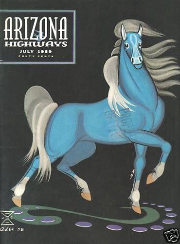 ARIZONA HIGHWAYS MAGAZINE FULL YEAR 1959 RODEO BEAUTY ART PHOTO COWBOY WEST