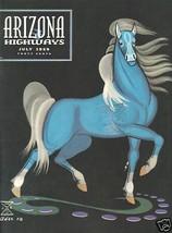 ARIZONA HIGHWAYS MAGAZINE FULL YEAR 1959 RODEO BEAUTY ART PHOTO COWBOY WEST image 1