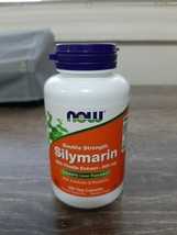 Silymarin Double Strength 100 Vcaps 300 mg by Now Foods. New - $16.78