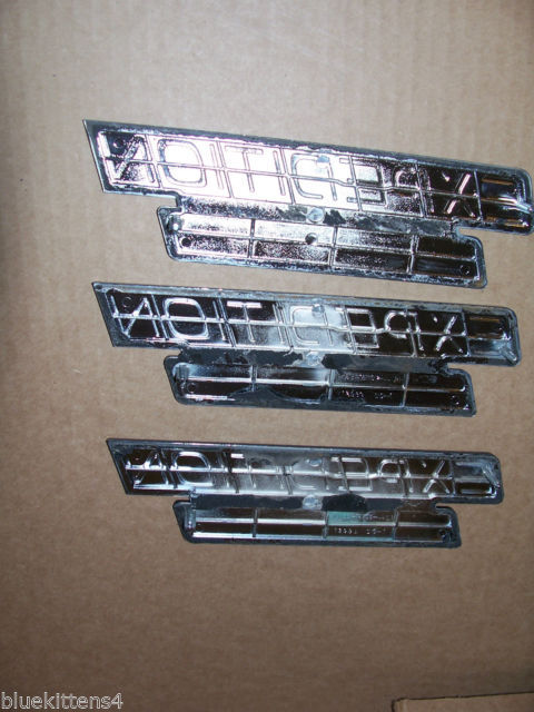 EDDIE BOWER 2001 EXPEDITION TRIM EMBLEM 3PC SET OEM USED ORIGINAL FORD PART 2000 image 6