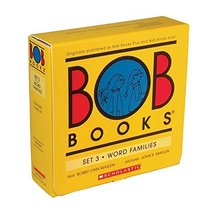 Bob Books Set 3- Word Families [Paperback] Bobby Lynn Maslen and John R.... - $11.87