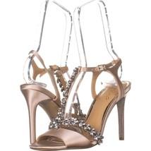 Jewel Badgley Mischka Jewel Maxi T-Strap Heeled Sandals 799, Champage , ... - €25,73 EUR