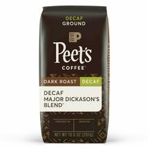 Peet's Coffee Decaf Major Dickason's Blend Dark Roast Ground 10.5OZ - $13.89