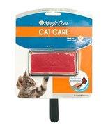 Four Paws Magic Coat Cat and Kitten Brush, 3.5' handle, 3 3/4' x 2' brus... - $7.35
