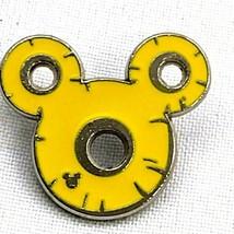 Disney Pin WDW 2017 Hidden Mickey Series Fruit Icons Pineapple Yellow Holes - $5.86
