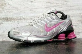Womens Nike Shox Running Shoes Sz 9 40.5 M Used 318164 061 Gym Blemish Look - $24.75