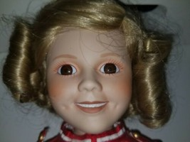 """1989 Shirley Temple Porcelain """"Poor Little Rich Girl Doll"""" From The Danb... - $14.84"""