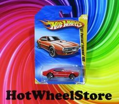 2010 Hot Wheels  Red  '67 PONTIAC FIREBIRD 400  Goodyear Tires #003  HW4... - $4.50