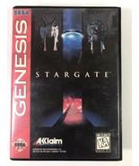 Stargate w/Case Sega Genesis Cleaned & Tested Authentic Blockbuster Stic... - $18.81