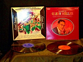 Glenn Miller Orchestra and The Best of Glenn Miller AA-191754  Vintage Collectib
