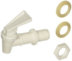 Tomlinson Replacement Cooler Faucet, White - $5.50