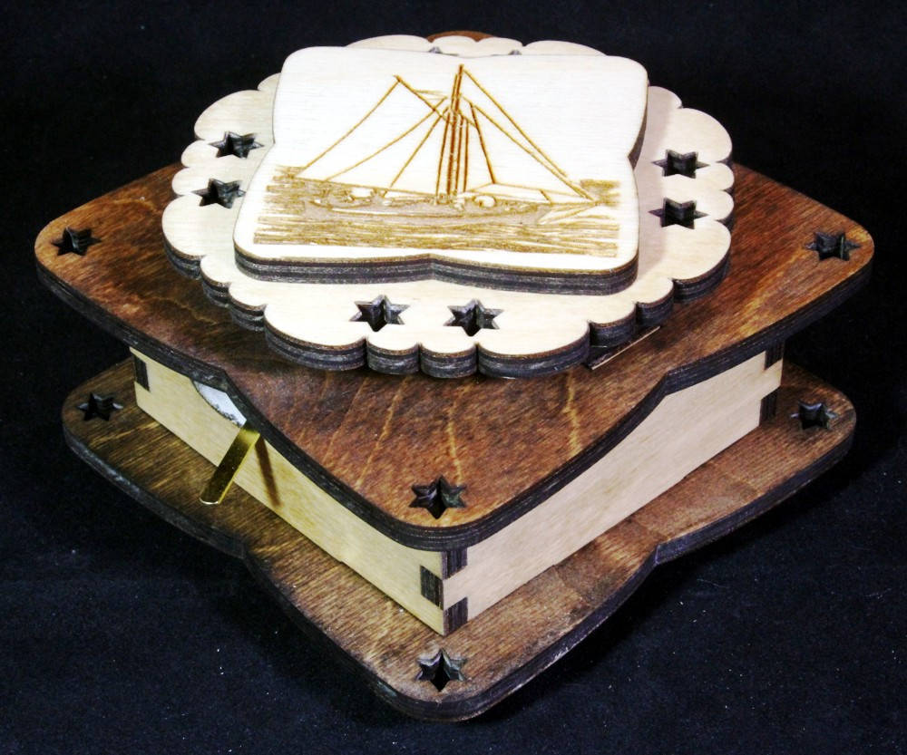 Sailboat Music Box image 4