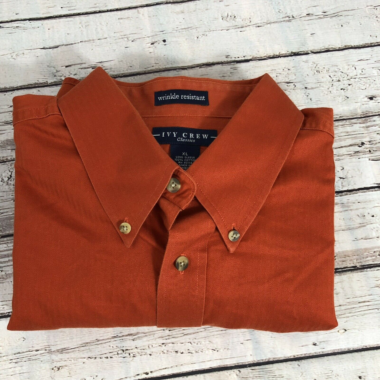 Primary image for Ivy Crew Classics Wrinkle Resistant Shirt - Size XL