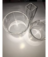 Acrylic Makeup Or Retail Display Containers - $19.59