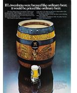 1973 Lowenbrau Full Page Color Print Ad - Vintage - Collectible - Original - $7.69
