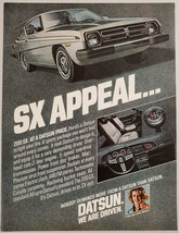 1978 Print Ad Datsun 200 SX 2 Door Sporty Cars Power Front Disc Brakes - $11.56