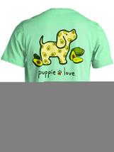 Puppie Love Rescue Dog Adult Unisex Short Sleeve Cotton Tee,Avocado Pup image 3