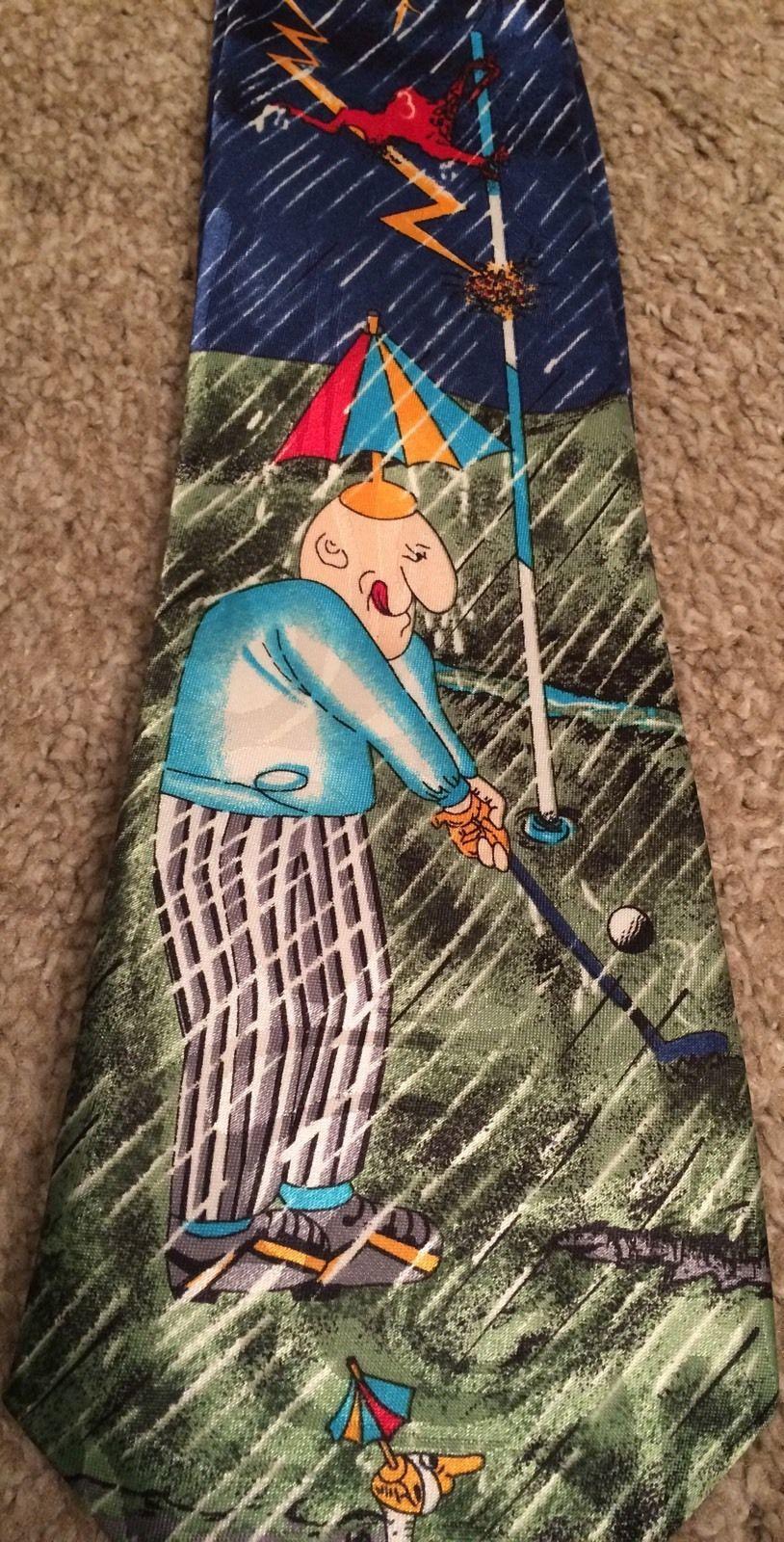 Fratello Necktie Rainy Days Golfing  image 2