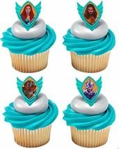 Decopac 12 Aquaman Cupcake Rings Toppers Cake Decoration - $7.87