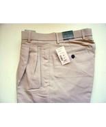 Men's Pants Pleated Front  Baracuta  Stone  30x30  46x30 - $25.08