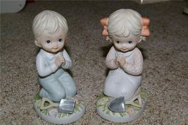 Homco Gardening Boy & Girl Figurines 1452 Home Interior - $13.99