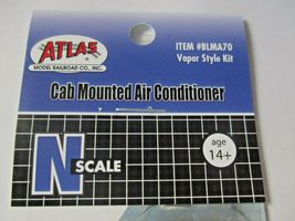 Atlas #BLMA70 Cab Mounted Air Conditioner Vapor Style Kit N-Scale image 4