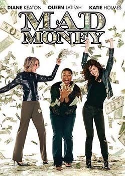 Mad Money DVD FUNNY Keaton Katie Holmes Queen Latifah !