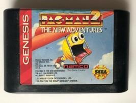 ☆ Pac-Man 2 The New Adventures (Sega Genesis 1994) Game Cart Tested Works ☆ - $6.95